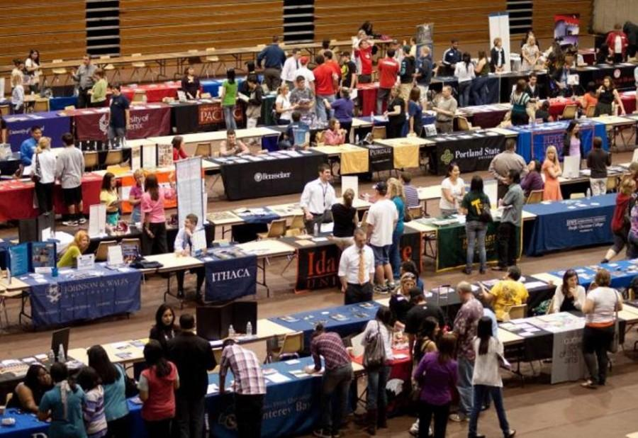 Jesuit+holds+annual+college+fair