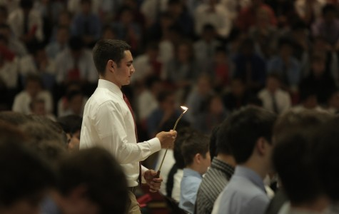 Jesuit's annual Mother-Son Mass