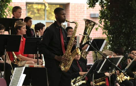 Student pursues musical growth