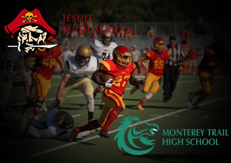 Jesuit faces off the Monterey Trail Mustangs this Friday night