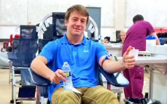Saving lives, one pint at a time