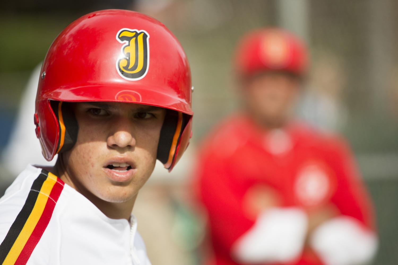 Vinnie+Spence+%2717%2C+a+varsity+baseball+player.+%7C+Jesuit+Communications
