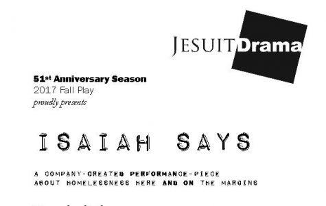 Isaiah Says, We Listen