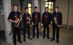 Bass trombonist hits musical zenith