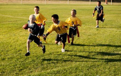 Football fun at Academics Plus