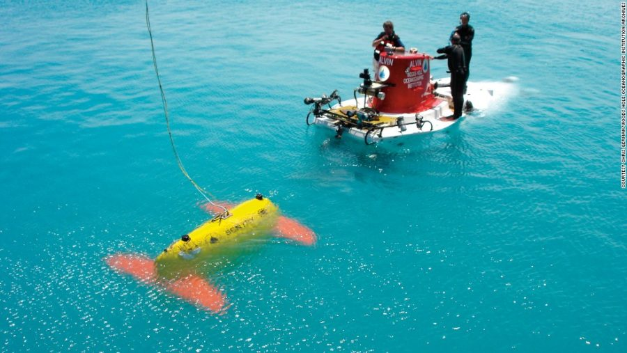 Story: Scientists build underwater robot to save their organization from financial downfall