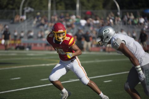 Jesuit suffers lopsided defeat