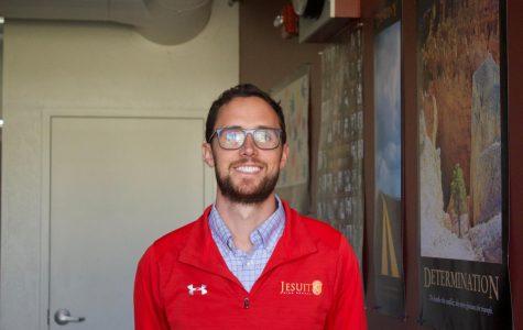 Mr. Ferrari rolls into Jesuit High School