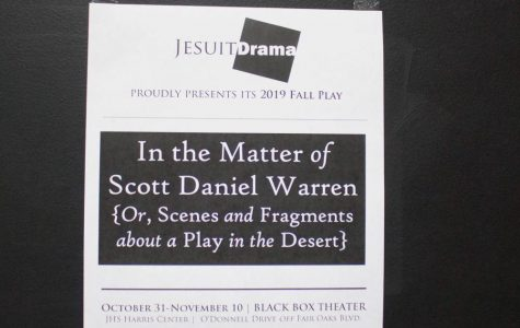 Jesuit's fall play dramatizes social justice