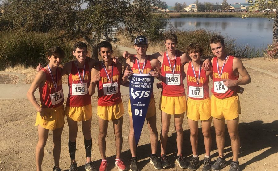 Jesuit+wins+the+Cross+Country+Section+Championships