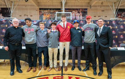 Jesuit recognizes six signees on Fall Signing Day