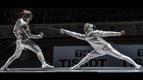 Fencer Dongwhan Park