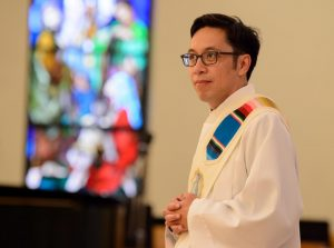 Father Perry Petrich: new face, same values
