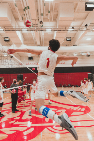 Star volleyball player Taylor Marks '21 sets for the future